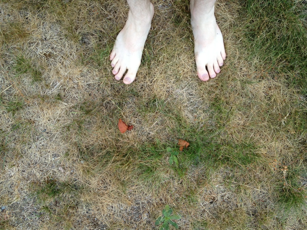 Dare you put your bare feet on the ground?